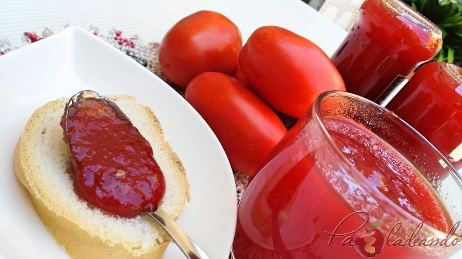 Mermelada de tomate casera 01 pazladeando
