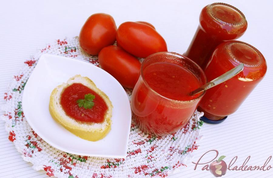 Mermelada de tomate casera 04 pazladeando