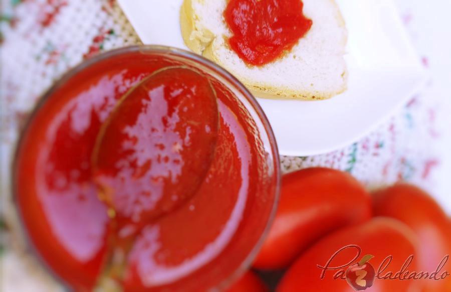 Mermelada de tomate casera 06 pazladeando
