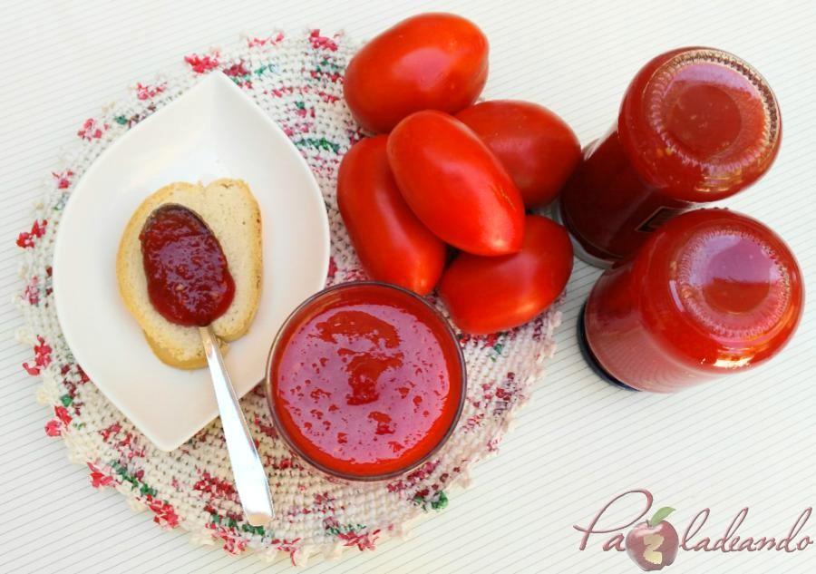Mermelada de tomate casera 07 pazladeando