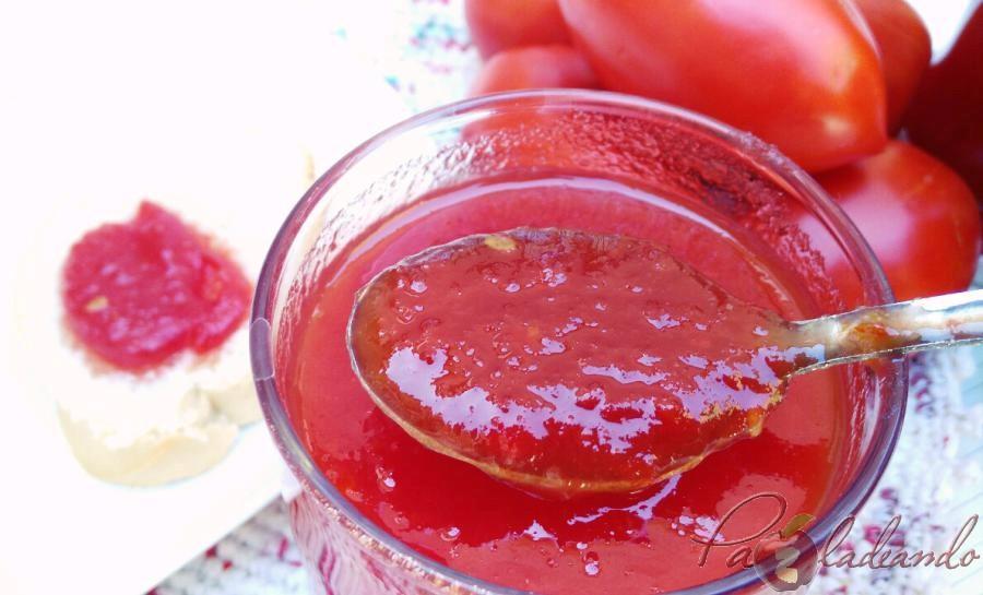 Mermelada de tomate casera 08 pazladeando