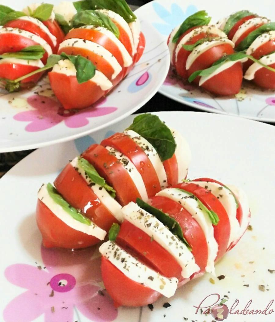 Tomates caprese 04 pazladeando