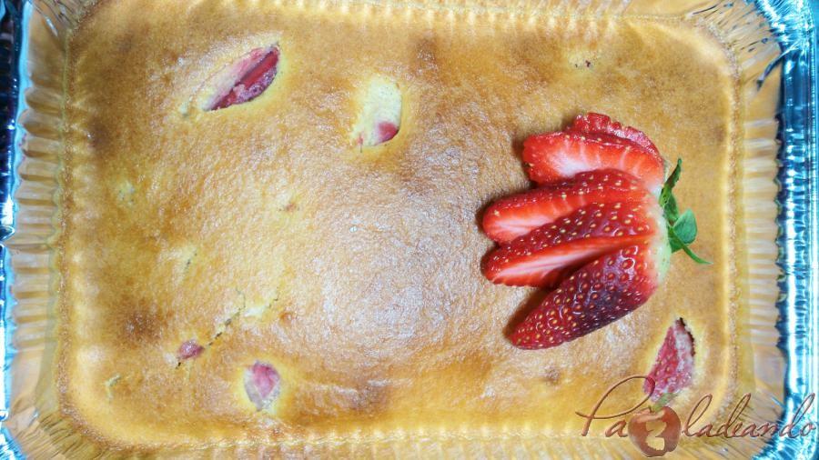 clafoutis de fresas 04 pazladeando