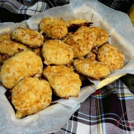 NUGGETS DE POLLO CASEROS ¡CON QUESO! con Thermomix