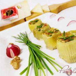 fondos de alcachofa rellenos de queso curado pazladeando (5)