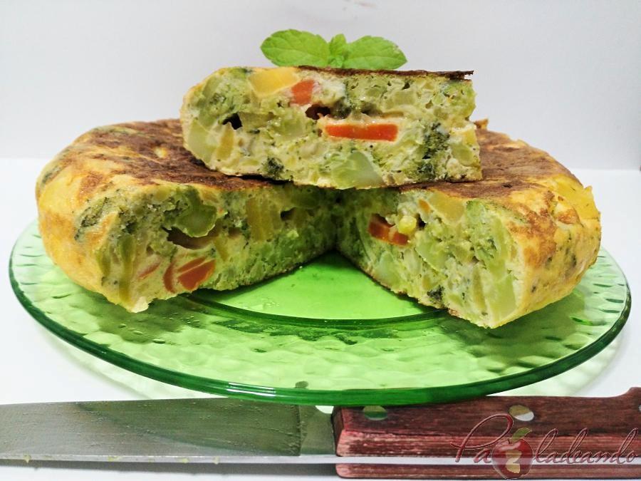 tortilla de patata y brócoli pazladeando 03