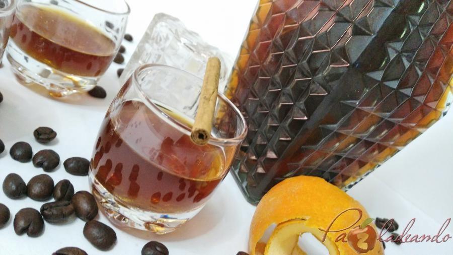 Licor de café casero fácil Pazladeando sin marca (2)