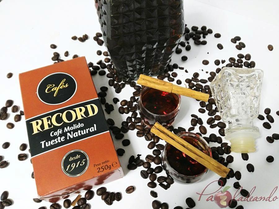 Licor de café casero fácil Pazladeando (7)