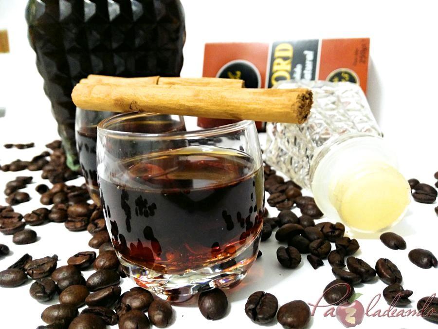 Licor de café casero fácil Pazladeando (8)