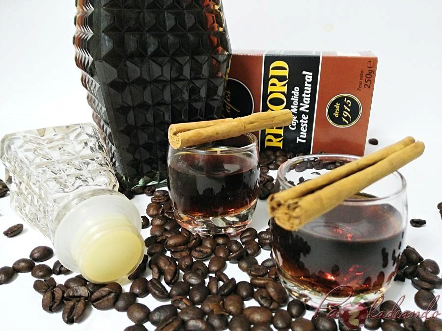 Licor de café casero fácil Pazladeando (9)