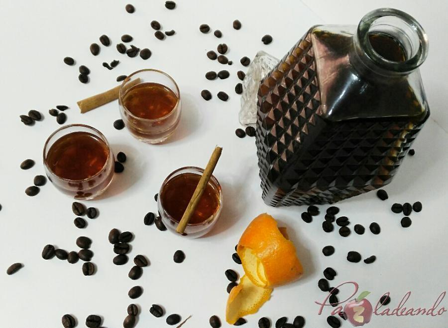 Licor de café casero fácil Pazladeando sin marca (3)