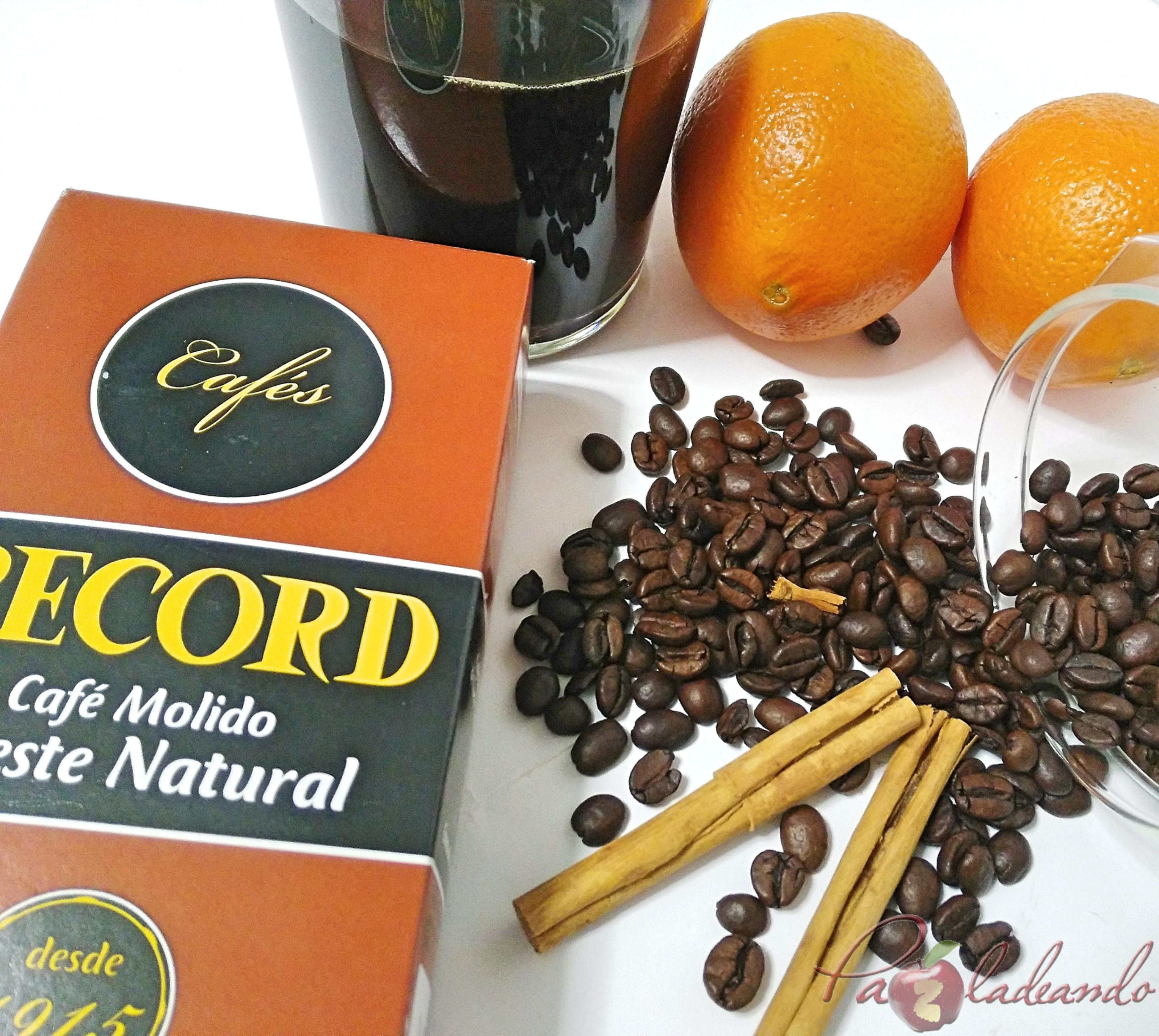 Licor de café casero fácil ingredientes