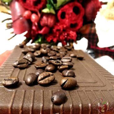 TURRÓN DE LICOR DE CAFÉ CON CHOCOLATE NEGRO