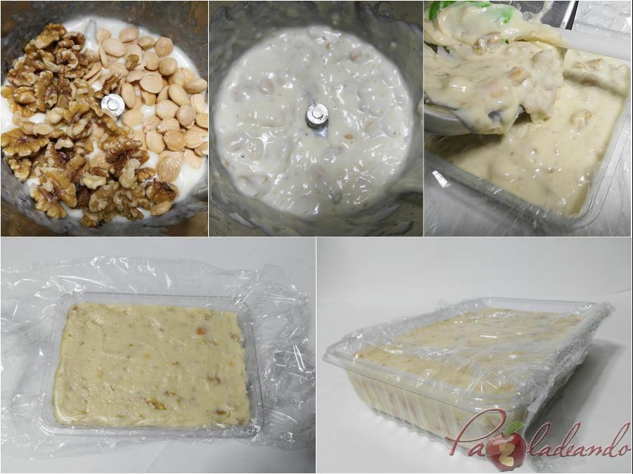 Turrón de queso manchego PaZladeando pasos 2