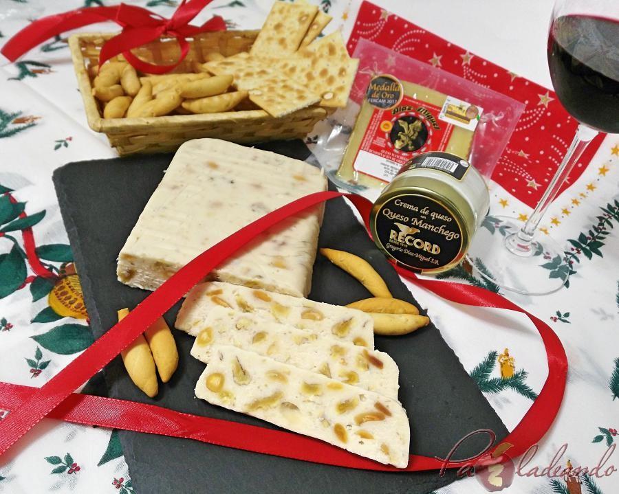 Turrón de queso manchego PaZladeando