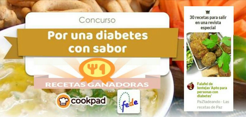 Por una diabetes con sabor cookpad