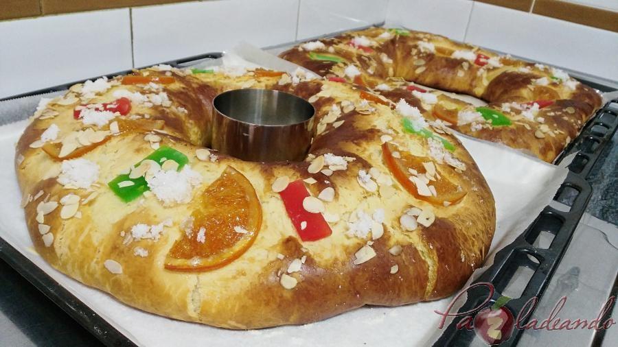 Roscón de Reyes sin masa madre con Thermomix Pazladeando (1)