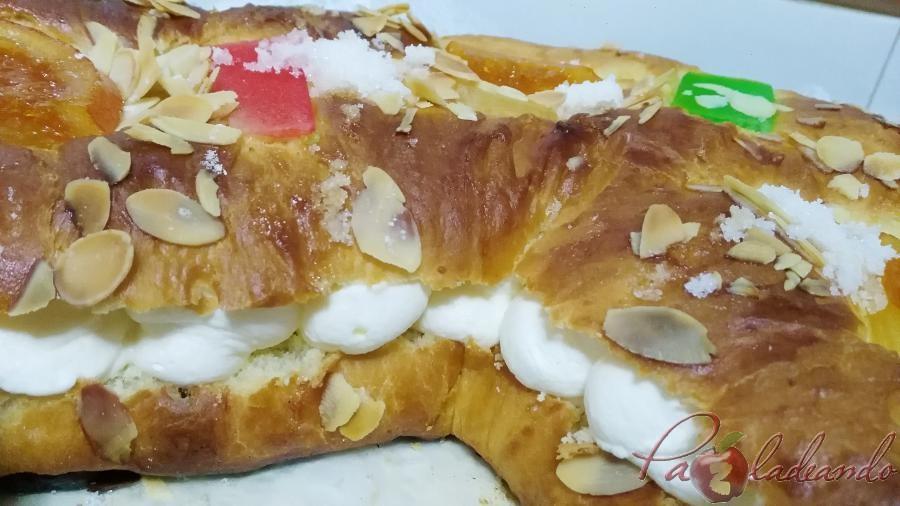 Roscón de Reyes sin masa madre con Thermomix Pazladeando (6)
