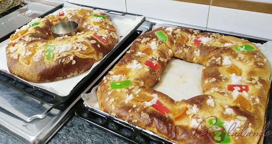 Roscón de Reyes sin masa madre con Thermomix Pazladeando (2)