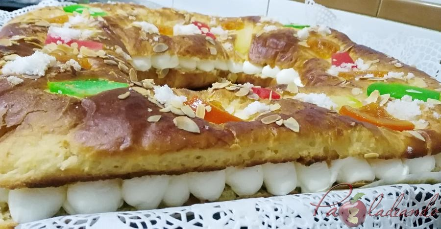 Roscón de Reyes sin masa madre con Thermomix Pazladeando (8)