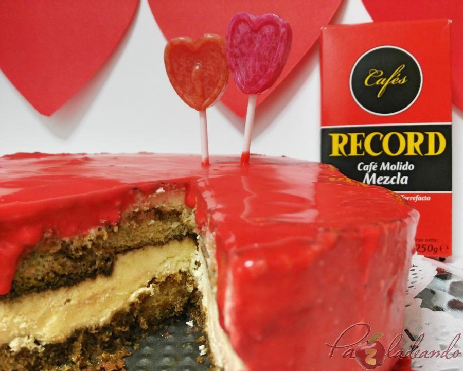 TARTA HELADA DE TIRAMISÚ CON GANACHE DE CHOCOLATE CALIENTE (9)