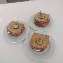 sandwich caprese cookpad