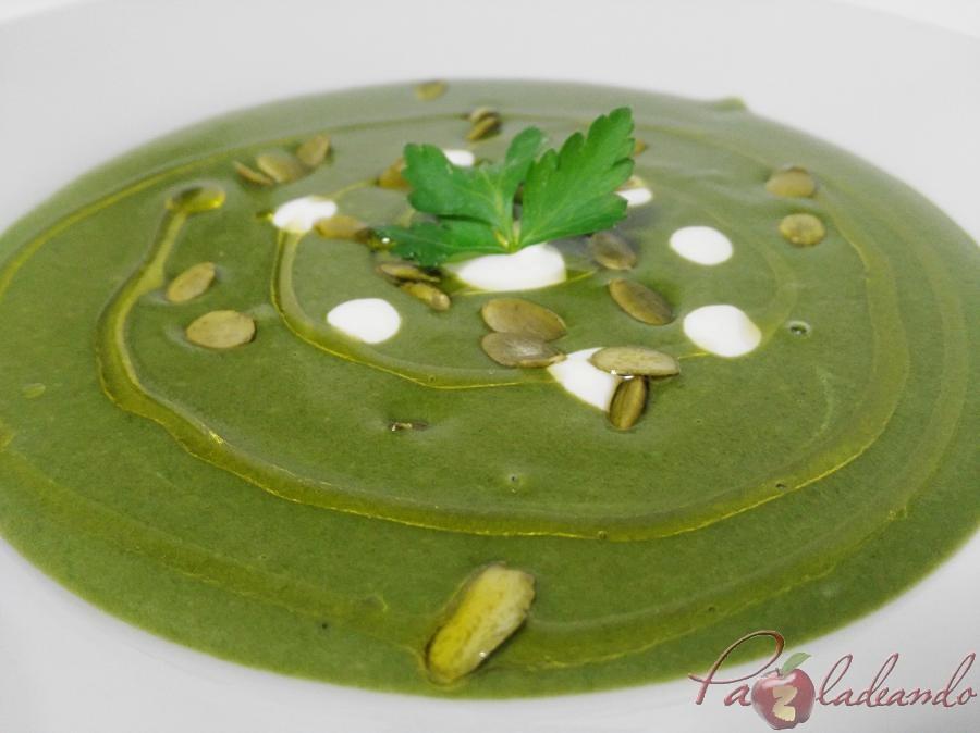 Crema de espinacas pazladeando (11)
