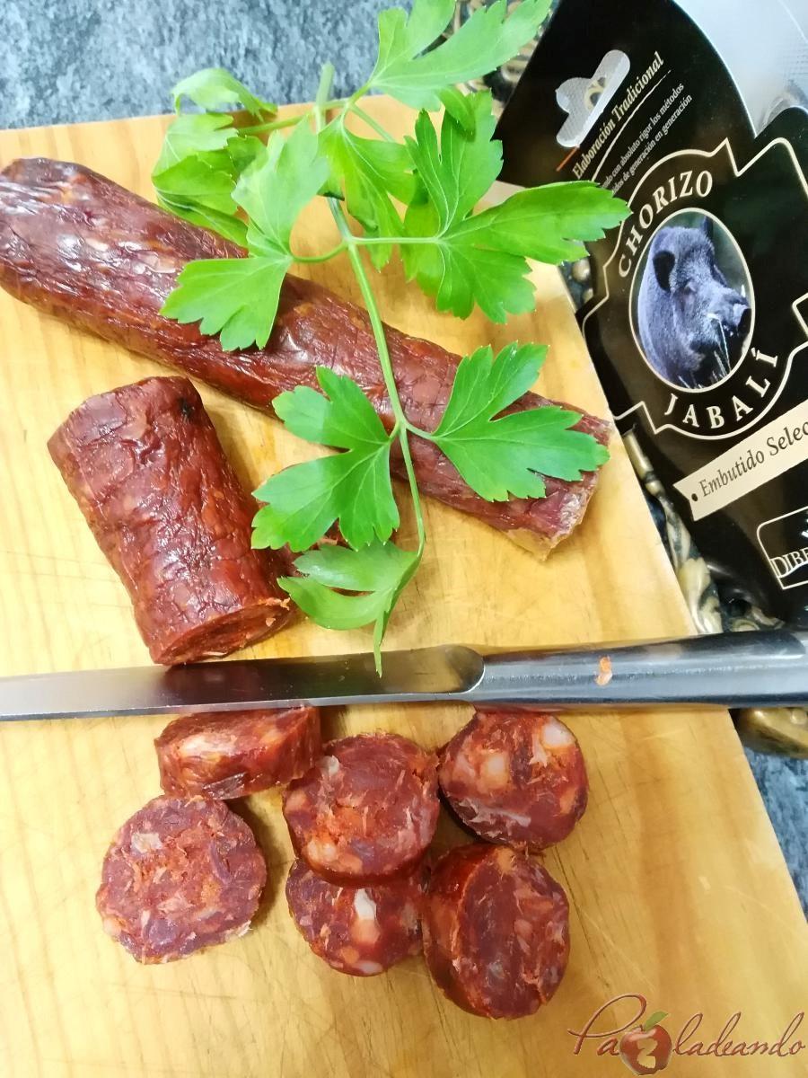 Paella De Chorizo De Jabalí Pazladeando Recetas Cocina Trucos Y Consejos