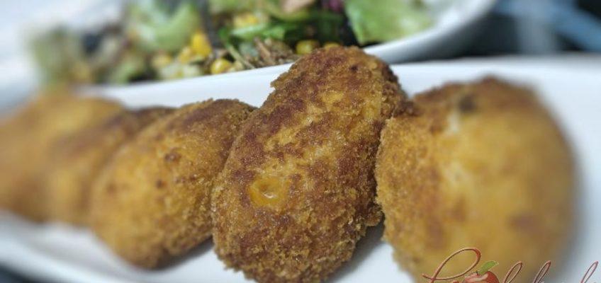 croquetas de salmón y maiz pazladeando 2