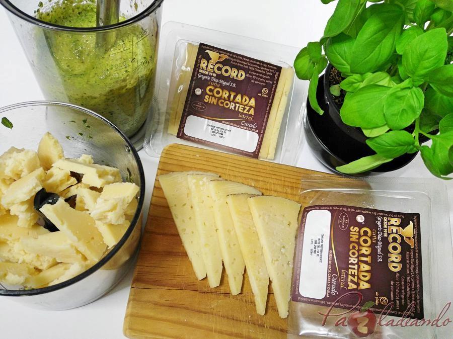Paso a paso Macarrones con pesto de queso manchego, albahaca y nueces (7)