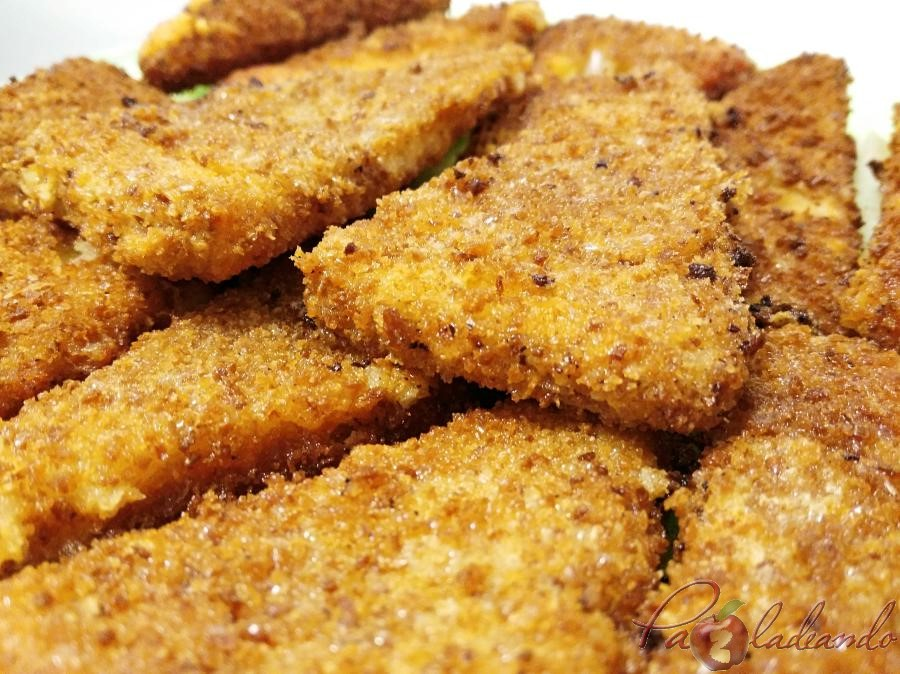 Triángulos de queso curado frito Pazladeando (2)