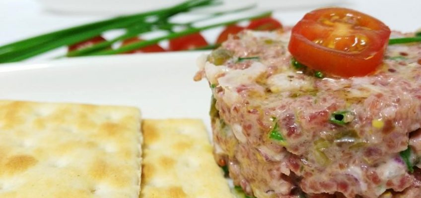 Tartar de salchichon Pazladeando 5
