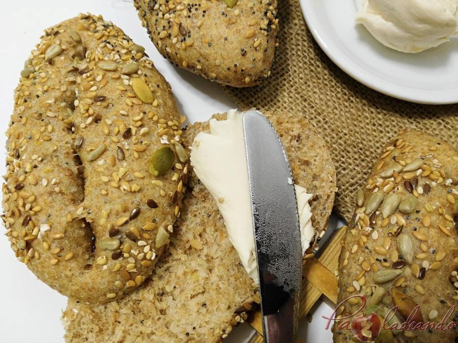 Panecillos de espelta integral con semillas PaZladendo (3)
