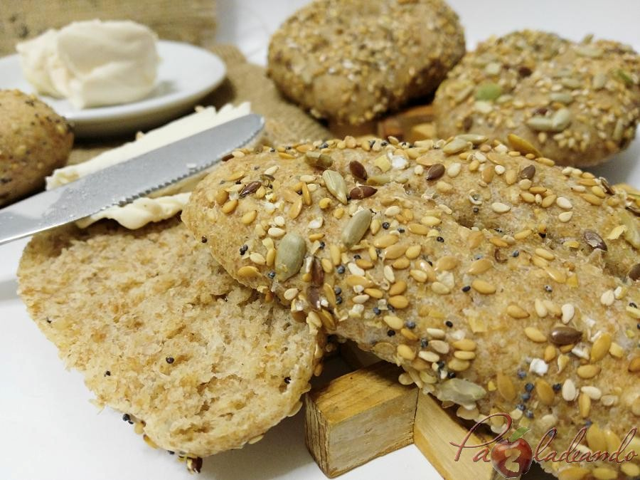 Panecillos de espelta integral con semillas PaZladendo (4)