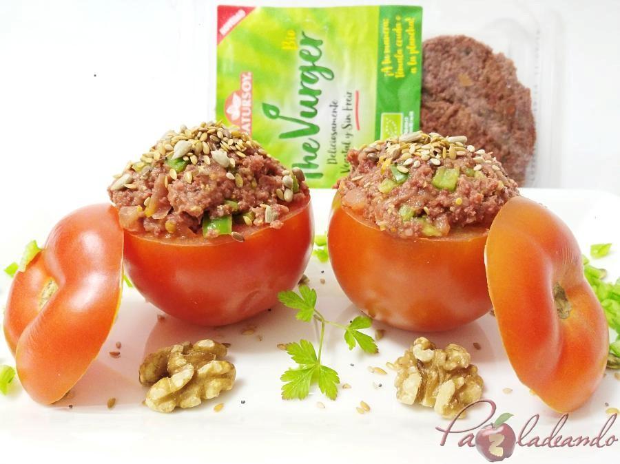 tomates rellenos de thevurguer