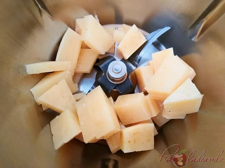 Pasos Flan de queso curado