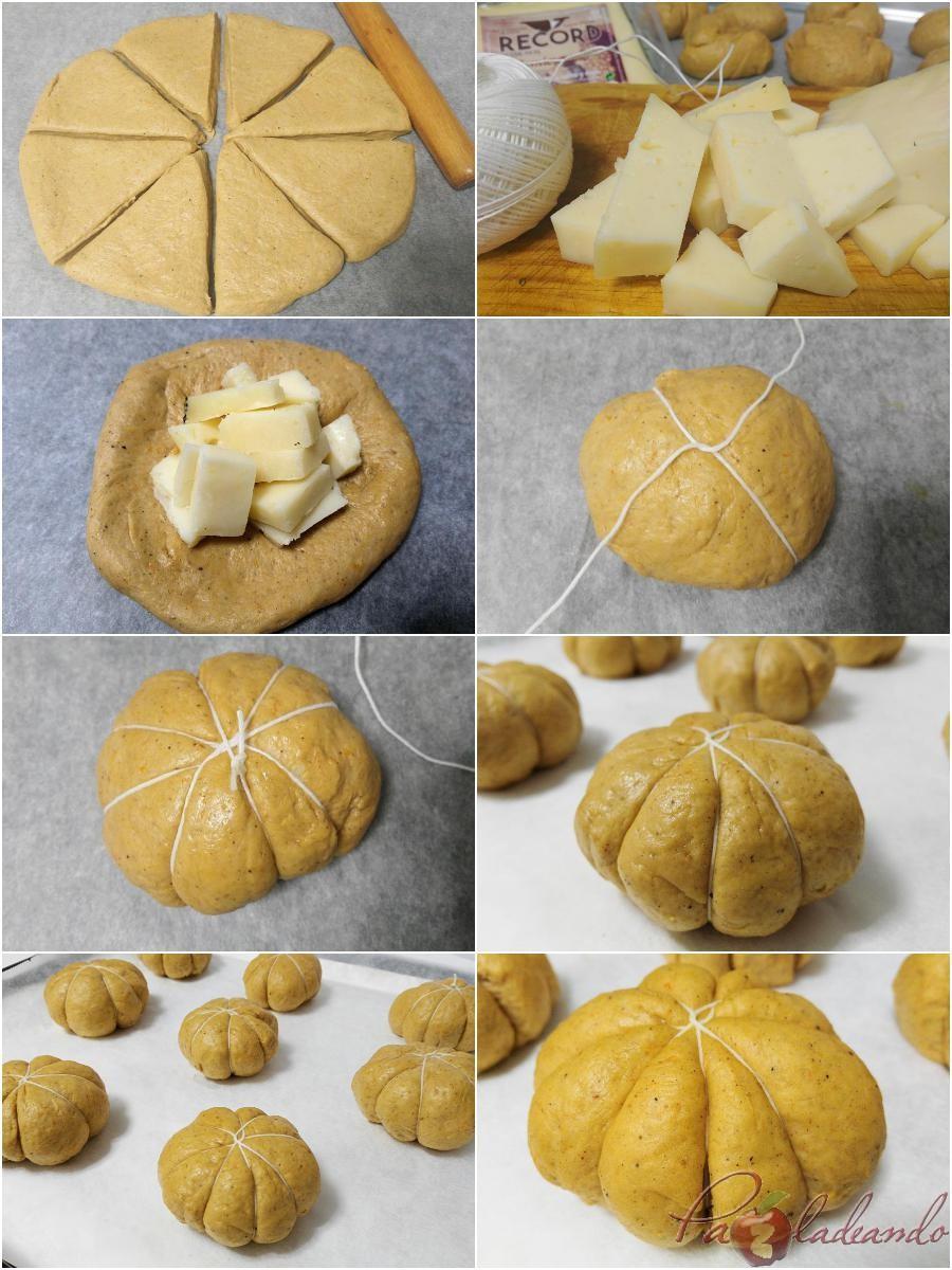 Pasos - Forma de los panes