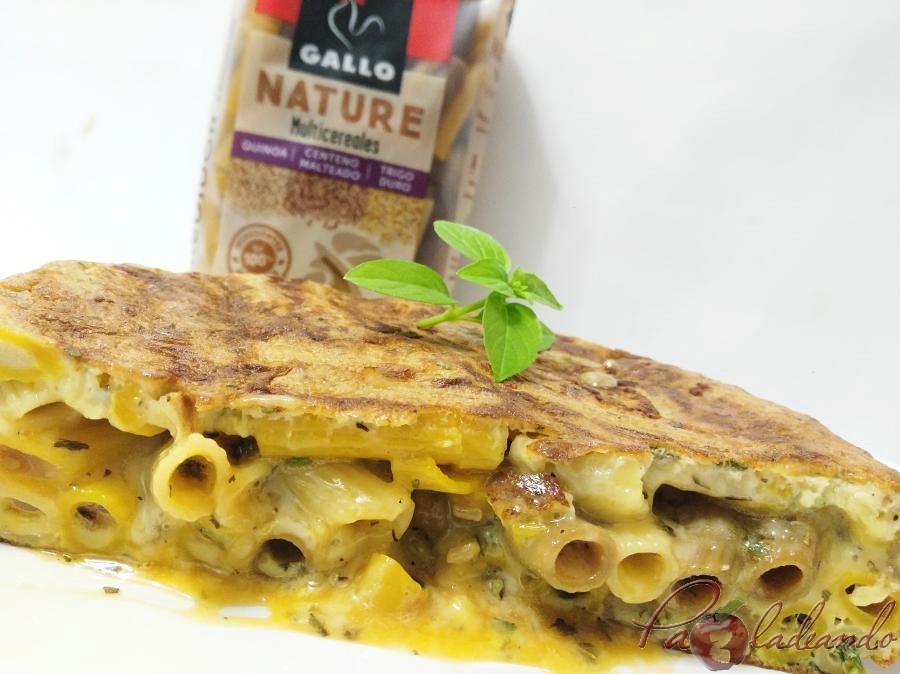 Tortilla de pasta multicereales PaZladeando (11)