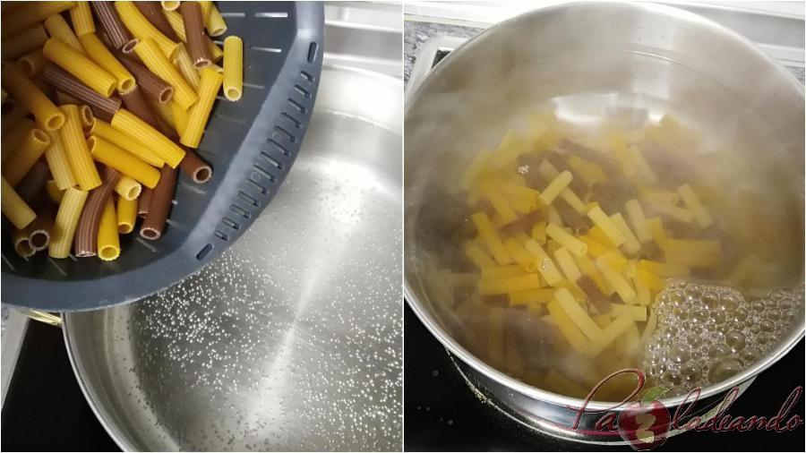 pasos cocer pasta