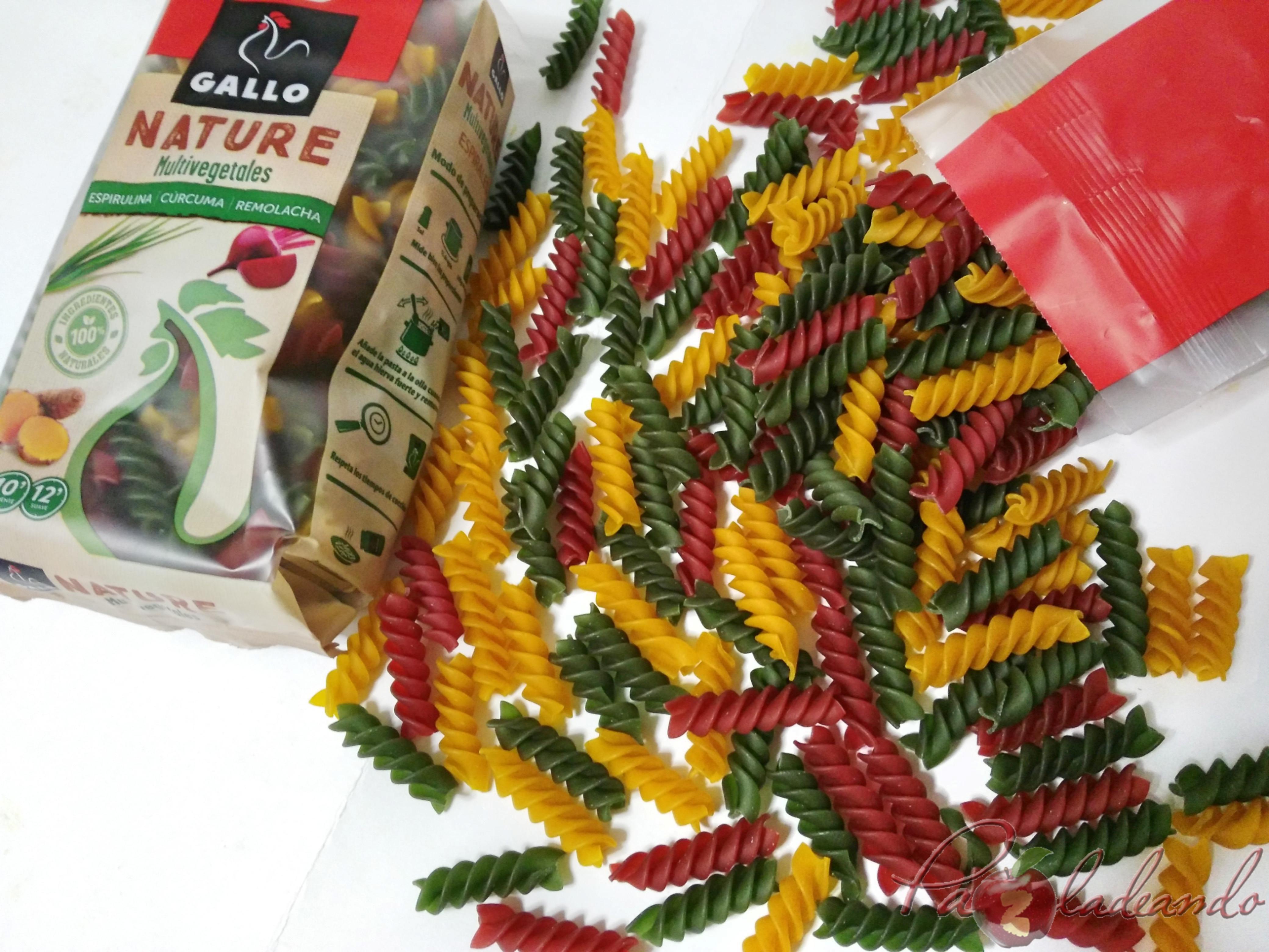 pasta multi vegetales con fruta Gallo Nature (1)