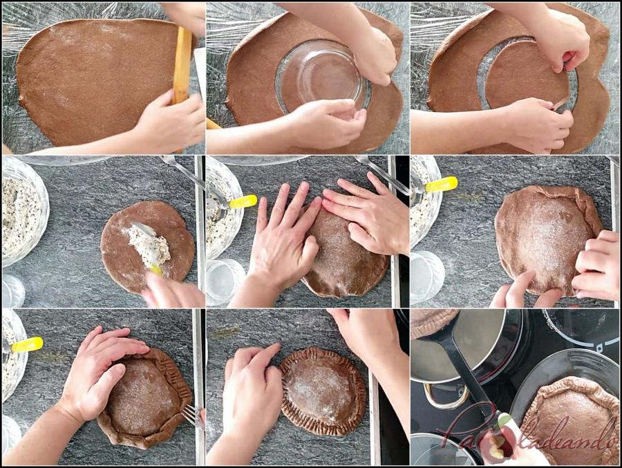 4. Paso a paso montaje y cocción ravioli
