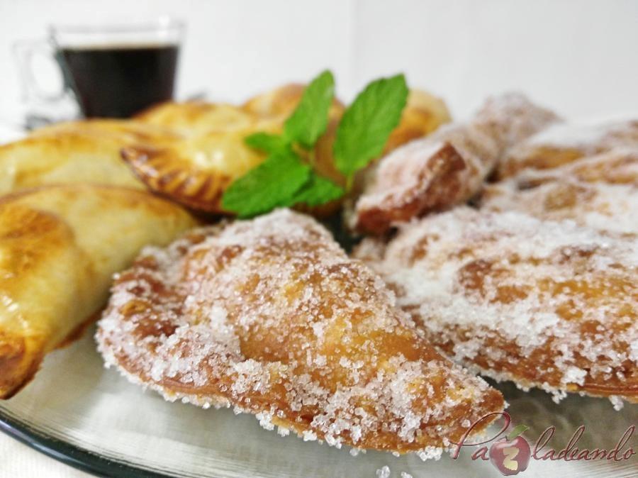 Empanadillas dulces de crema de café Pazladeando