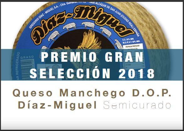 Queso Manchego DOP Díaz-Miguel Semicurado