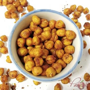 SNACKS DE GARBANZOS. Receta saludable