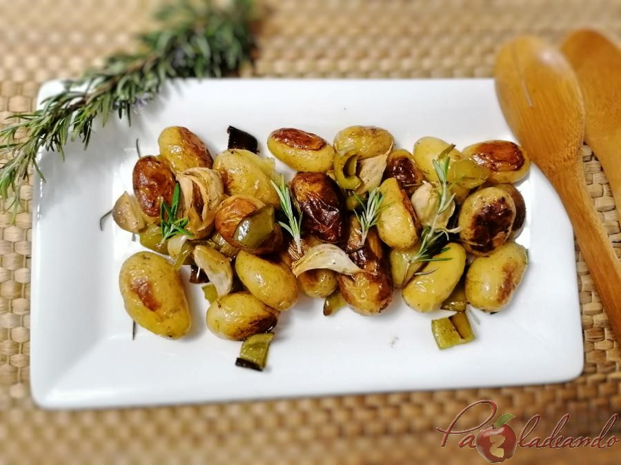 Patatas al romero Pazladeando