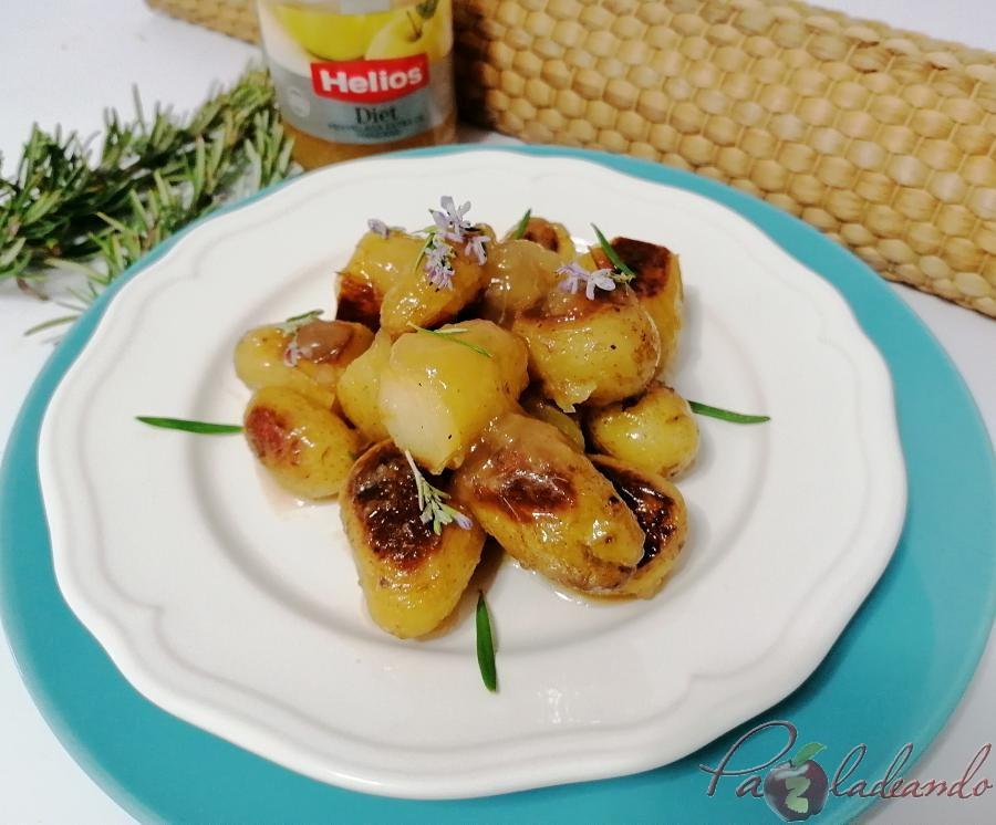 Patatas al romero con mermelada de manzna Hero Diet