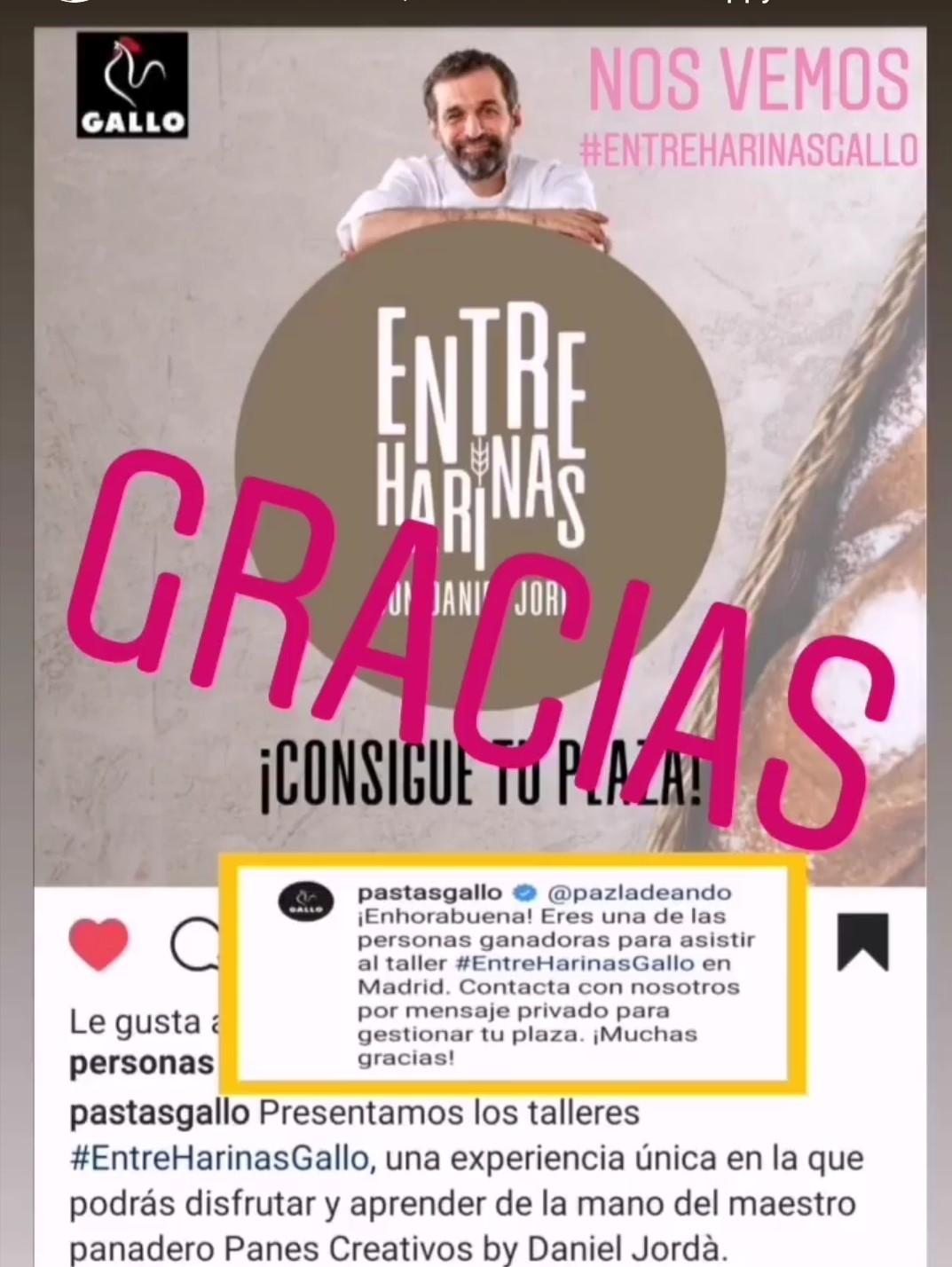 Premio Entreharinas - Daniel Jordá & Pastas gallo
