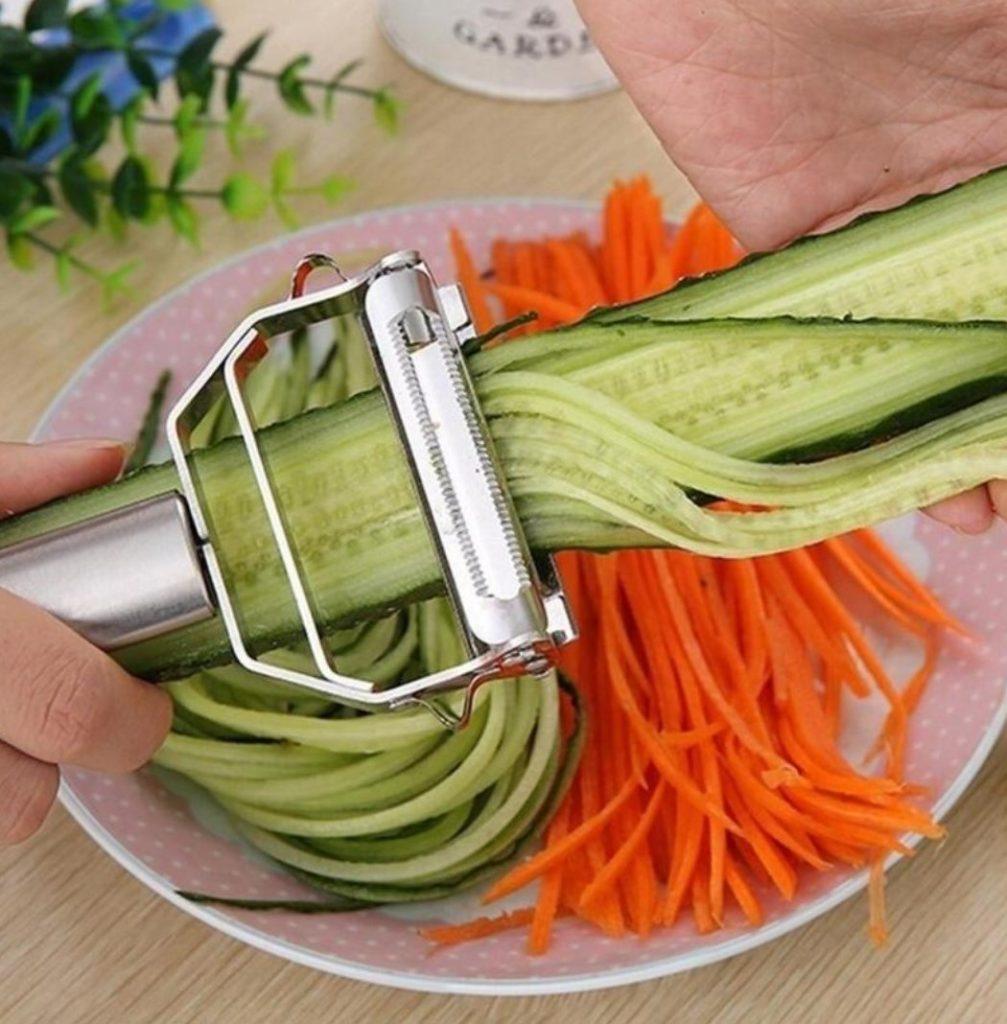 espaguetis de verdura
