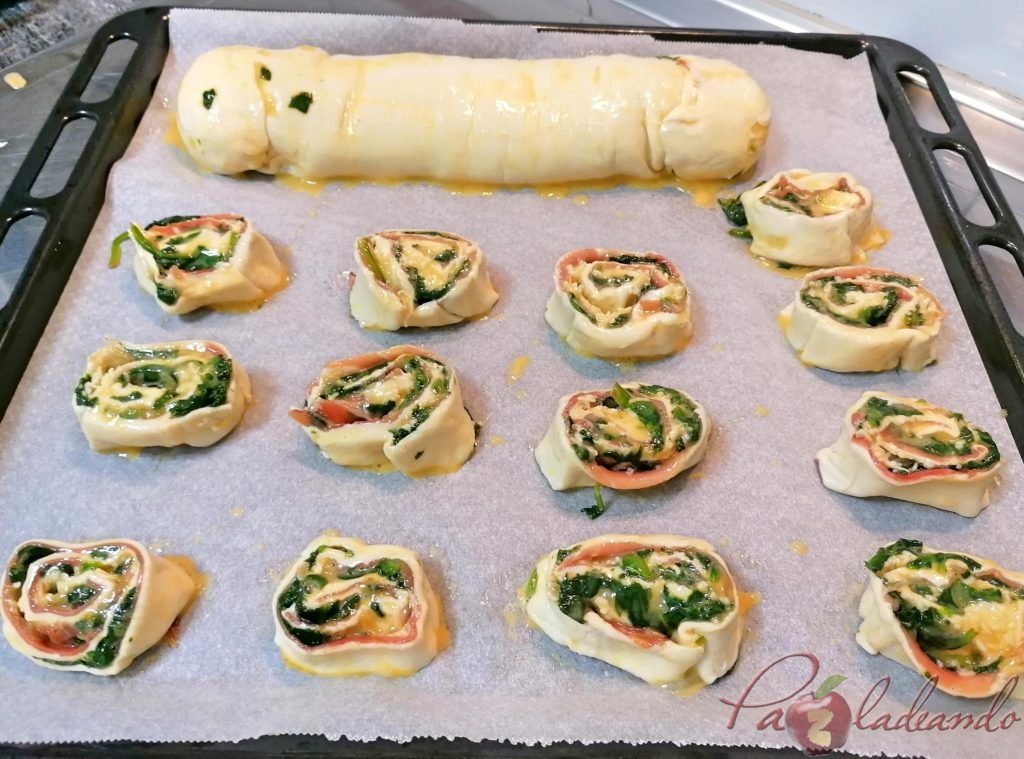 Piruletas de espinacas, queso y jamón serrano Paso (16)