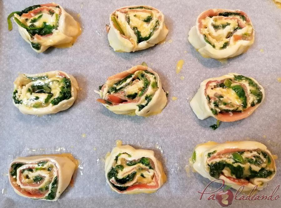 Piruletas de espinacas, queso y jamón serrano Paso (17)